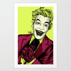 Joker On You 2 Art Print