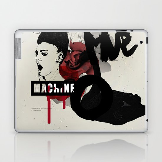 MACHINE Laptop & iPad Skin