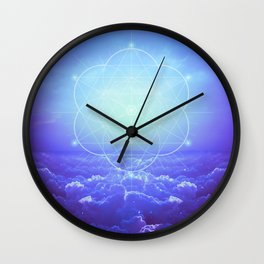 All But the Brightest Stars Wall Clock