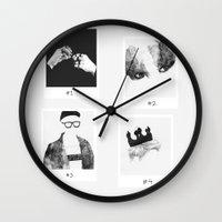 shinee Wall Clocks featuring details o by helenwidjaja