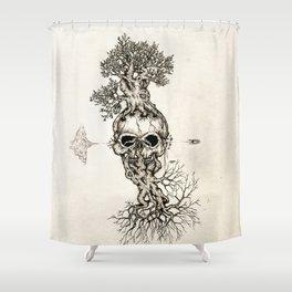 Life is fragile Shower Curtain