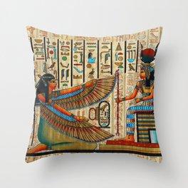 Egyptian - Isis Throw Pillow