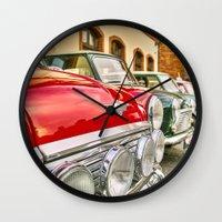mini Wall Clocks featuring mini by Dr3amdancer