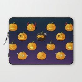 Halloween Jack-o'-lantern Laptop Sleeve