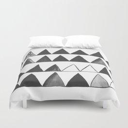 Triangles Duvet Cover
