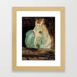 The White Horse Gazelle - Henri Toulouse-Lautrec Framed Art Print