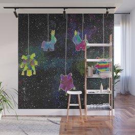Galactic Posada Piñatas Wall Mural