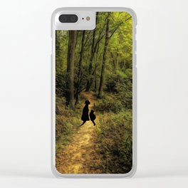 Come Walk With Me Clear iPhone Case