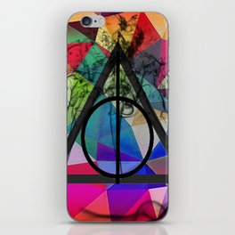 DH Shapes iPhone Skin
