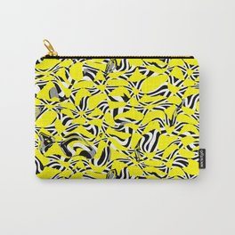 Yellow Prickly Scraps Carry-All Pouch