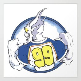 Beast Hockey Logo #99 Art Print
