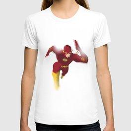 The Flash minimalist Splash Poster T-shirt