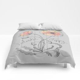 Icelandic Poppy Comforters