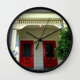 The 2-dor Family Tree Wall Clock