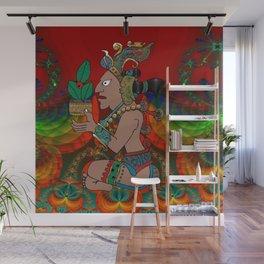Yucatan Psychedelic Mexicano Visiones Wall Mural