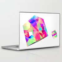games Laptop & iPad Skins featuring GAMES by DIZYGOTIK