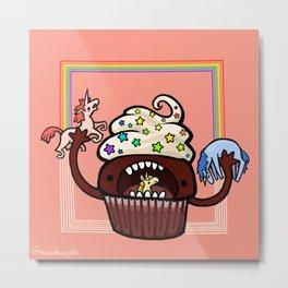 Food Series - Cupcake Metal Print