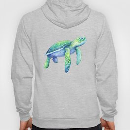 Green Sea Turtle Hoody