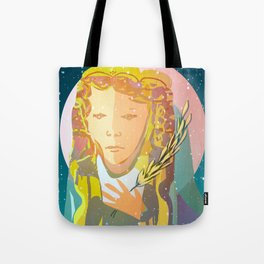 Virgo The Virgin / Zodiac Tote Bag