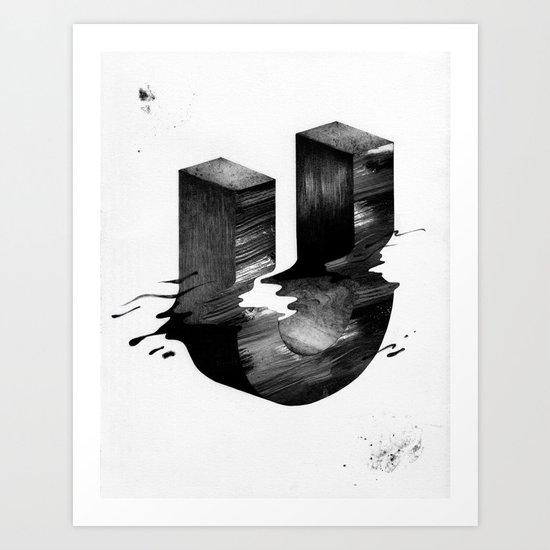 No. 26 Zine - Letter U Art Print