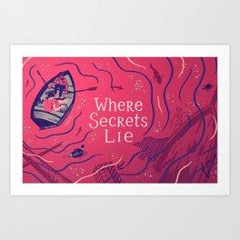 Graft - Where Secrets Lie Art Print