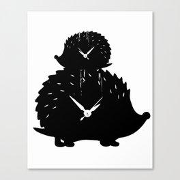 Timed Porcupine Canvas Print