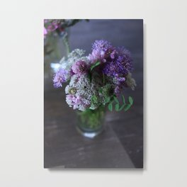 bouquet of wild flowers Metal Print