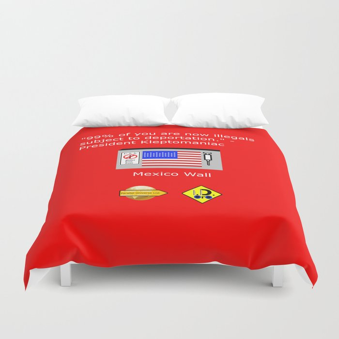 99% of Americans Duvet Cover