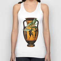 greek Tank Tops featuring Ancient Greek by Fifikoussout