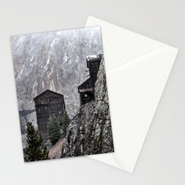 Mining in Colorado Stationery Cards