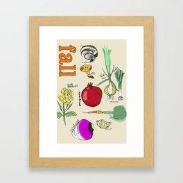 Fresh From the Farmers Market: Fall Framed Art Print