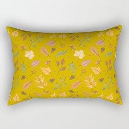 Gold Cascade Rectangular Pillow