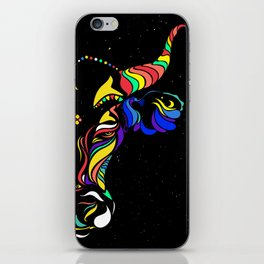 Cattle in the wind by #Bizzartino iPhone Skin