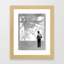 404 Framed Art Print
