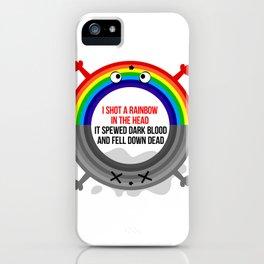 I shot a rainbow iPhone Case