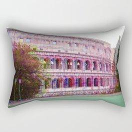 3d Colosseum  Rectangular Pillow