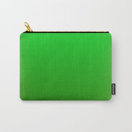 Bright Green Stitch Carry-All Pouch
