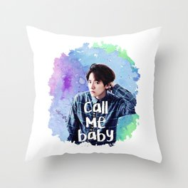 Call me Baekhyun Throw Pillow