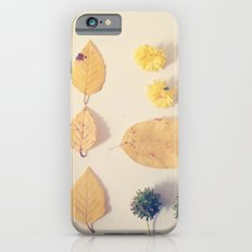 Yellow Autumn Collection iPhone 6s Slim Case