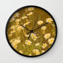 DAISIES - IN MEMORY OF MACKENZIE  Wall Clock