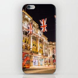 Regent Street London iPhone Skin