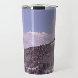 Purple Moutain Mont Blanc Travel Mug