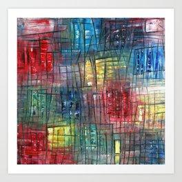 """City Of Color"" Art Print"