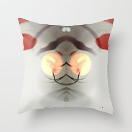 Dali in the Abstract Throw Pillow