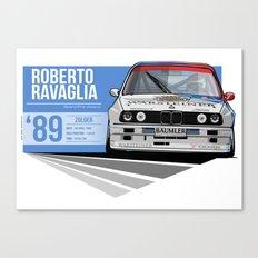 Roberto Ravaglia - 1989 Zolder Canvas Print