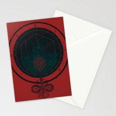 Dark Dahlia Stationery Cards