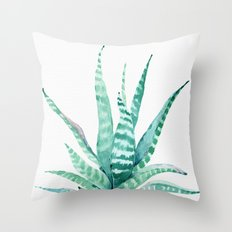 Succulent Life Throw Pillow