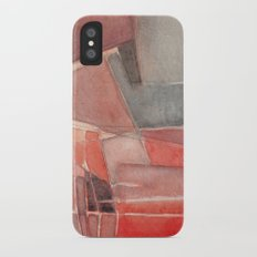 abstract iPhone X Slim Case