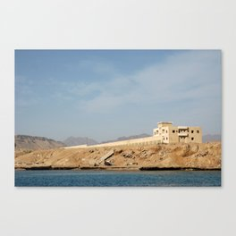 Coastline Canvas Print