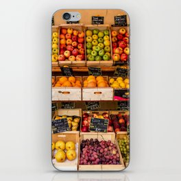 Groceries, Nice France iPhone Skin